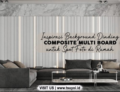 Inspirasi Background Dinding Composite Multi Board untuk Spot Foto di Rumah